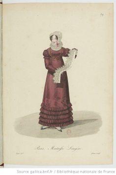 Laundress for fine items? Maitresses lingere. Costumes d'ouvrières parisiennes / par Gatine - 43