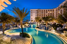 Things to do in Clearwater Beach, Florida: Stay at the Sandpearl resort, by far an amazing pool area, sunset viewing area, and prime North Clearwater Beach    #JetsetterCurator