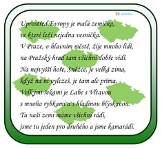 Česká republika - básnička Homeschool, Historia, Homeschooling