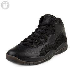 Nike Mens Air Jordan 10 Retro OVO Black/Metallic Gold Leather Size 8 (*Amazon Partner-Link)