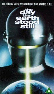 The Day the Earth Stood Still (1951) An alien lands and tells the people of Earth that they must live peacefully or be destroyed as a danger to other planets.