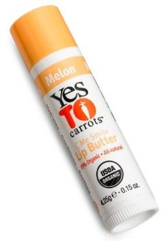 Yes To Carrots Lip Butter, Melon, 0.15-Ounce Sticks (Pack of 6)