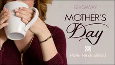 Enter now for your chance to win a mother/daughter hazelwood jewelry set of your choice! Share the giveaway to get additional entries.