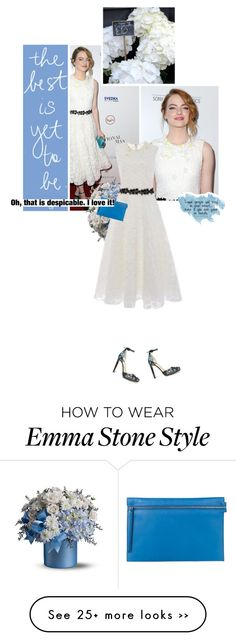 """""""Get the Look: Emma Stone"""" by jesssilva on Polyvore"""
