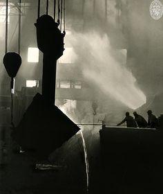 Bethlehem Steel Company, Sparrows Point, Baltimore County, Maryland, 1949 • A. Aubrey Bodine