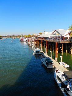 Boat Dock, Old Sacramento, CA via flickr
