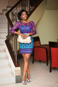 #Ankara dress  African Fashion #2dayslook #AfricanFashion #nice  www.2dayslook.com