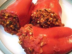 Passover Stuffed Peppers - Passover or not, these sound delicious