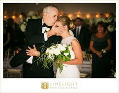 ceremony, white bouquet, bride, father of the bride, love, happiness, limelight photography, www.stepintothelimelight.com