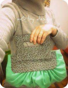 Bolsa de tecido feito a mão, muito charmosa!