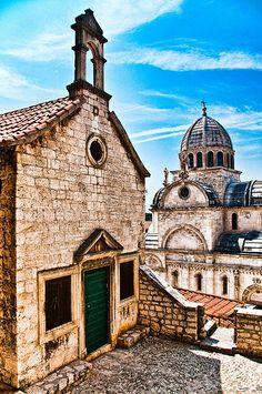 The Cathedral of St. James in Sibenik ,Croatia by Sergiu Bacioiu