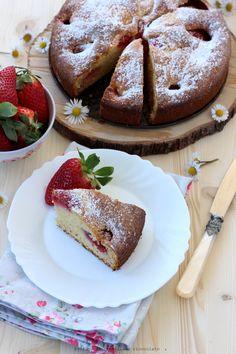 Torta morbida alle fragole e mescarpone (8)