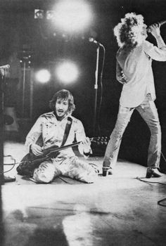 "The Who...""Layin' on my back In the newly mown grass Rain is coming down But I know the clouds will pass You bring me tea Say ""the babe's a-sleepin'"" Lay down beside me Love ain't for keeping"""