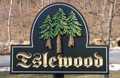 Islewood Rural Property Sign   Danthonia Designs