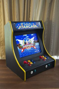 2-player Bartop Arcade Machine (powered By Pi)