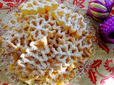 holiday rosette cookies
