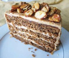 Fragrant Vanilla Cake: Maple Nut Cake (Gluten Free Vegan) { Looks really good but seems like it would be a once in a lifetime recipe because the ingredient list is HUGE! Gluten Free Cakes, Gluten Free Desserts, Vegan Desserts, Just Desserts, Gluten Free Recipes, Baking Recipes, Dessert Recipes, Dessert Ideas, Gluten Free Cooking