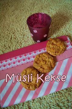 Meine rosa Welt: Sweet Sunday  -  Müsli Kekse