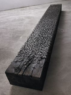 Alphabet Bench by Lee Jae-Hyo |