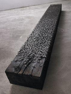 Alphabet Bench by Lee Jae-Hyo