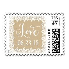 Love Stamp   Kraft and Lace
