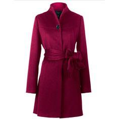 Yanny London Cape cashmere blend coat