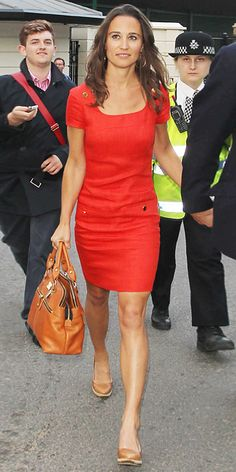 Pippa Middleton's Style - June 28, 2011 from #InStyle