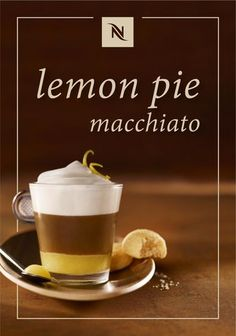 This indulgent Lemon Pie recipe from Nespresso is as sweet as can be. Dive into the zesty flavors of lemon curd and amaretto syrup as they mix with Cosi Grand Cru to create one incredible dessert coffee recipe.