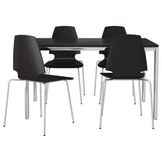 TORSBY/VILMAR Table and 4 chairs - IKEA $345 artspace?