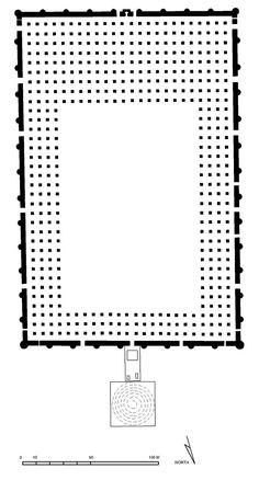 Great Mosque of Samarra plan