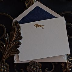 Looking forward to the Belmont Stakes? Our Golden Horse #WriteAgain Cards are the perfect for the occasion. #Sports #Stationery