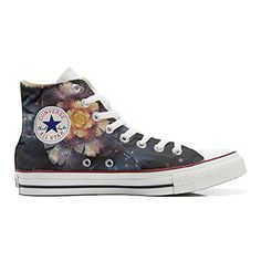 Converse All Star personalisierte Schuhe (Handwerk Produkt) Infinity flowers - http://on-line-kaufen.de/make-your-shoes/converse-all-star-personalisierte-schuhe-90