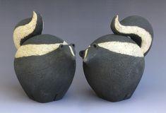 Pottery Animals, Ceramic Animals, Ceramic Studio, Ceramic Art, Fat Animals, Ceramic Glaze Recipes, Clay Teapots, Creative Arts And Crafts, Raku Pottery