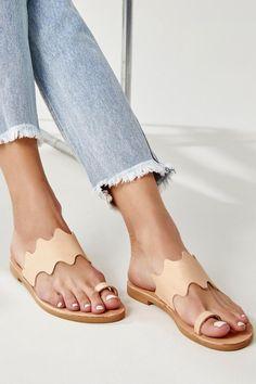 Toe Ring Sandals, Bridal Sandals, Boho Sandals, Nude Sandals, Lace Up Sandals, Toe Rings, Flat Sandals, Flats, Tan Leather Sandals