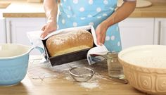Bakings not all about the cake. Rise to the occasion of bread making! #LetsBake