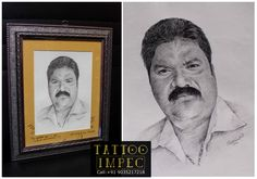 # Portrait drawing # Midia : pencil #  by Sunil Ck   # ;)  Get  inked from Experienced Tattoo Professional.. Call: Sunil C K @ +91 9035217218 to book your appointment.  www.facebook.com/tattooimpec