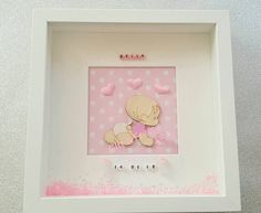 Personalised Frames, Handmade Frames, Handmade Gifts, Baby Girl Newborn, Unique Jewelry, Pretty, Cute, Crafts, Craft Frames