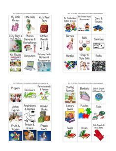 Playroom Closet Organization Board Games