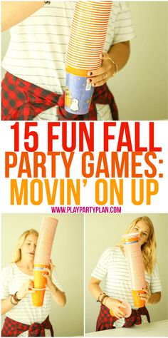 Hilarious fall games for all ages