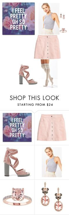 """""""Pretty 'n' Polite 👄"""" by daaeisha-gates ❤ liked on Polyvore featuring Trademark Fine Art, H&M, Valentino, Truly Madly Deeply, Effy Jewelry and Urban Outfitters"""