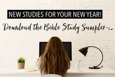 The Top 5 Bible study ideas for 2017 from @LifeWayWomen! Download the free sampler now.