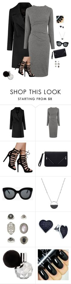 """High Fashion Woman"" by hanakdudley ❤ liked on Polyvore featuring Whistles, CÉLINE, White House Black Market, Topshop, BillyTheTree, women's clothing, women, female, woman and misses"