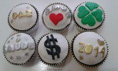 Cupcakes Ano novo