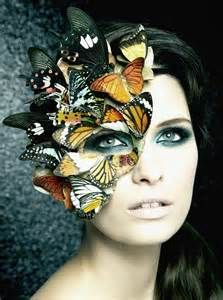 butterfly make up - Bing Images