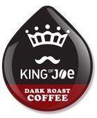 KING OF JOE DARK ROAST COFFEE T-DISC 32 COUNT - http://thecoffeepod.biz/king-of-joe-dark-roast-coffee-t-disc-32-count/