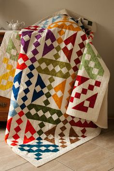 Anja's Quilt's: Grote quilts