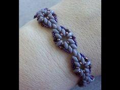 Diamond Duo Bracelet  ~ Seed Bead Tutorials