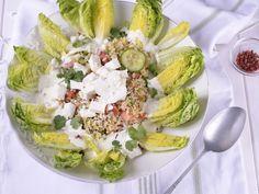 Receta | Ensalada de trigo y yogur - canalcocina.es