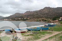 Fishing boats near Pindo. Find all the information to plan your trip to #Carnota in www.qnatur.com