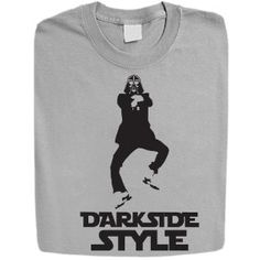 Stabilitees Funny Starwars Darth Vader Darkside Style inspired by Gangnam Style Womens T Shirts All Colours:Amazon:Clothing